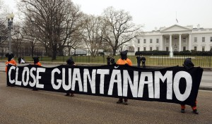 Demonstrators call for Guantanamo Bay detention center closing in Washington