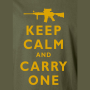 keep calm and carry one