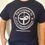 Participate In Civil Disobedience Shirt
