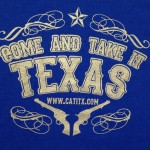 Come And Take It Texas T Shirt