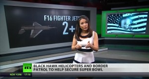 NFL flying F16s and Blackhawk helicopters