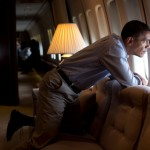 Obama Films Anti-Oil Drilling Video From Jumbo Jet