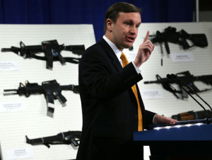 Connecticut Senator Chris Murphy has been a champion for government monopoly on firepower since Sandy Hook.  Image: thetruthaboutguns.com