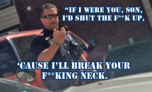 Officer Rossi The Crazy Dallas Cop