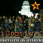 Mass Civil Disobedience at the Austin Statehouse