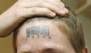 Barcode on forhead - DontComply.com