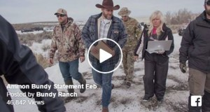 Ammon Bundy Speaks Out From Jail