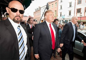 Donald Trump Secret Service Protection