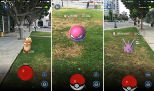 Pokemon Go Screen Shots Citation