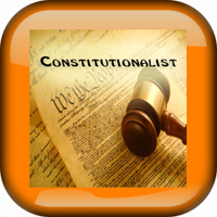 Constitutionalist white button