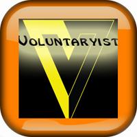 Voluntaryist White Button