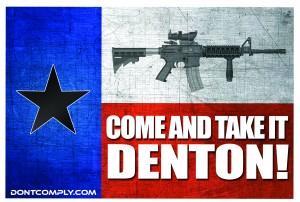 Come And Take It Denton