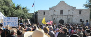 Alamo Gun Rights Rally