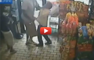 Raw Footage: Surveillance Video Shows Michael Brown Robbing Convenience Store Minutes Before Death