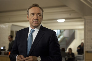 "Kevin Spacey as Frank Underwood, the quintessential 'of Washington' politician in Netflix's ""House of Cards.""  Image: collider.com"
