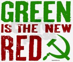 Environmentalists, like the Soviets, ultimately want government control over all means of energy production, but differ (ever so slightly) on their tactics.  Image: DCGazette.com