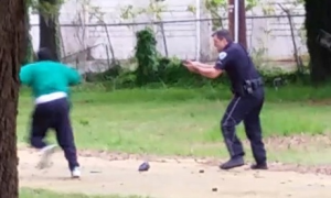Michael Slager will be charged with murder thanks to a brave citizen with a camera.  Image: theguardian.com