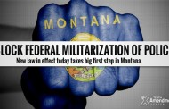 Montana Law Blocks Federal Militarization Of Police