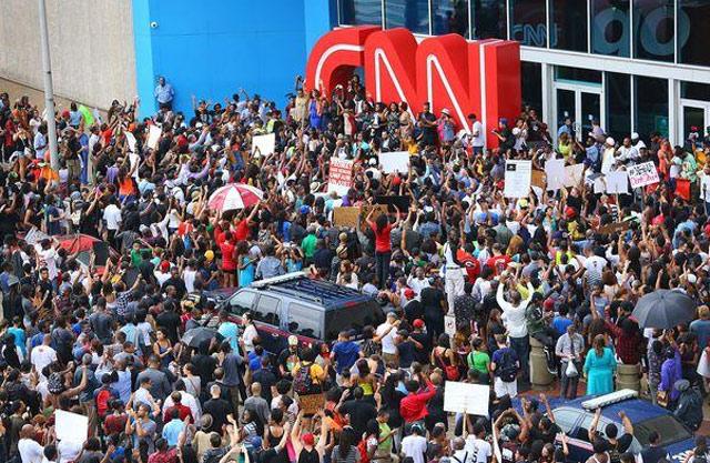 Image result for CNN protest