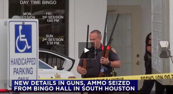 Guns Confiscated At Licensed Bingo Hall In Texas