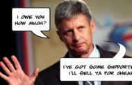 Gary Johnson Supporters For Sale